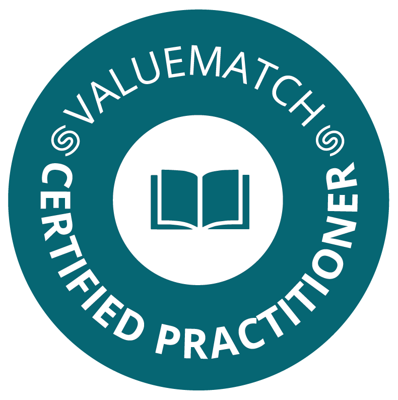 ValueMatch Certified Practitioner logo 1 green low resolution